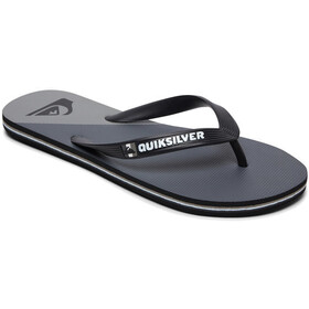 Quiksilver Molokai New Wave Sandals Men, negro/gris